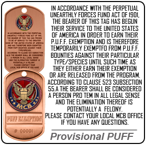 ProvisionalPUFF