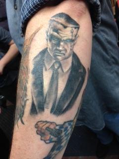 Agent Franks tat.