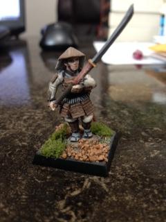 Zach's farmer samurai, Shintaro.