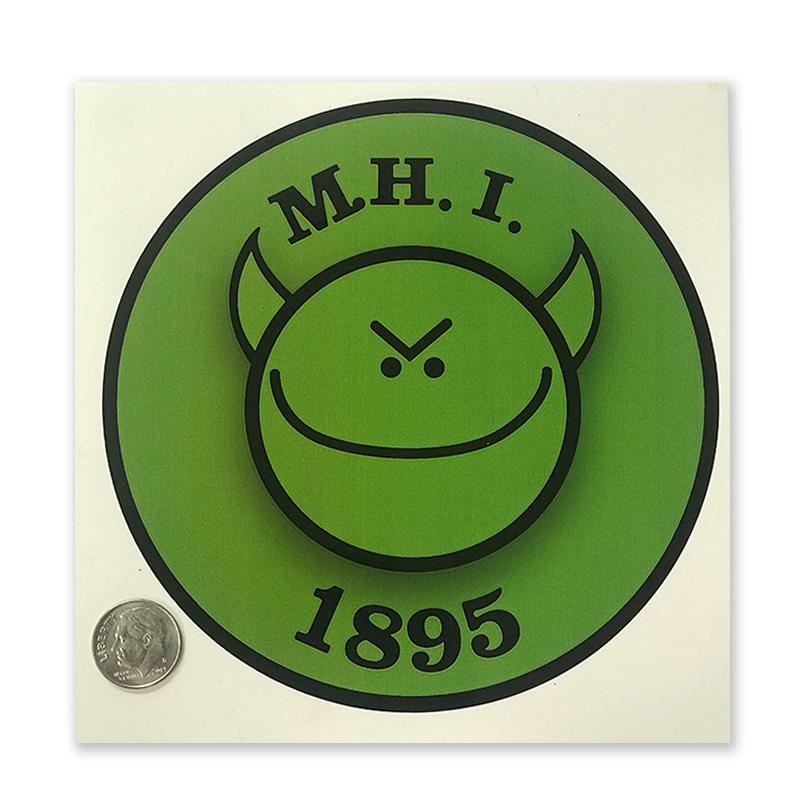 OG MHI Logo sticker